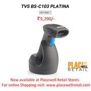 Buy TVS BS-C103 PLATINA Barcode Scanner Lowest Price in Siliguri