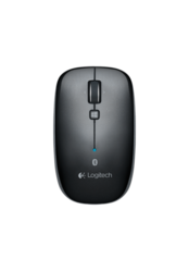 Logitech Bluetooth Optical Mouse M557 Customizable Button One Touch