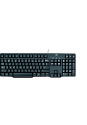 Logitech Classic Keyboard k100 Full Featured Minimal Design