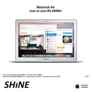Apple MacBook Air 128GB Great offers & discounts at Shine poorvika