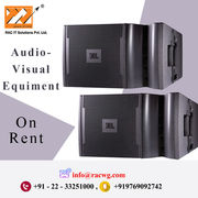Audio visual Equipment Rental services from Racwgitsolution