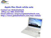 Apple Mac book white ,  Intel Core 2 Duo @2.4 GHz with adaptor on sale